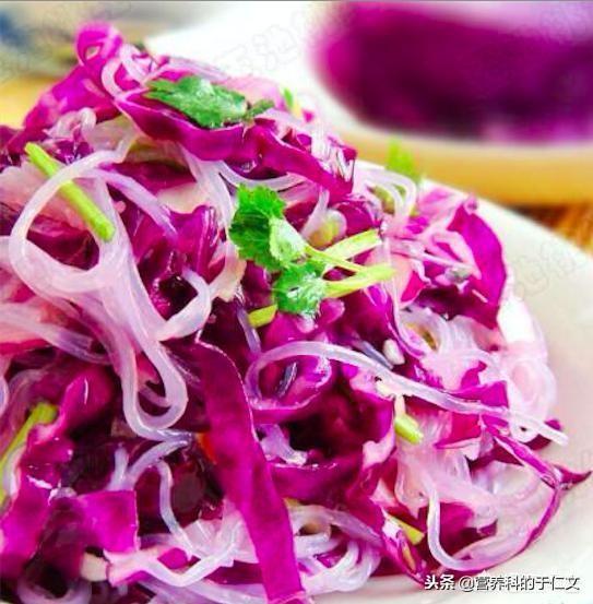 紫甘蓝是十字花科类蔬菜,与白菜、萝卜、菜 - 第1张  | 网络大咖