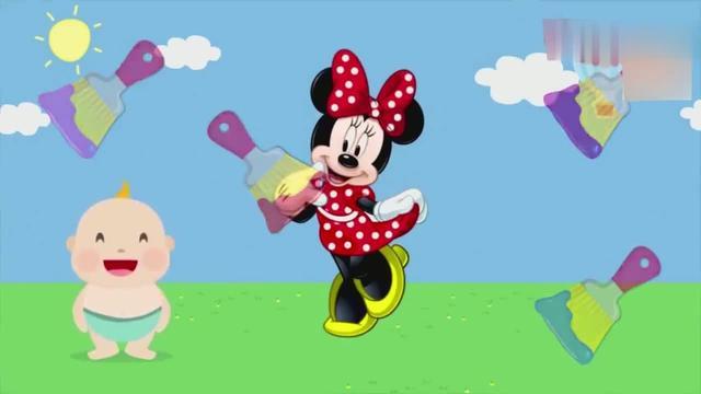 育儿益智早教色彩启蒙,3D卡通人物图片找回专属的颜色!