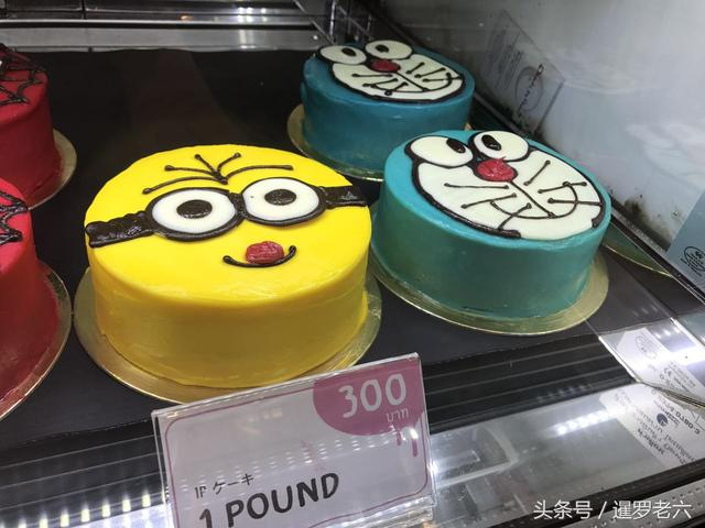 曼?#26085;?#23478;甜品店的卡通蛋糕太可爱了!小黄人、皮卡丘,好看又好吃!