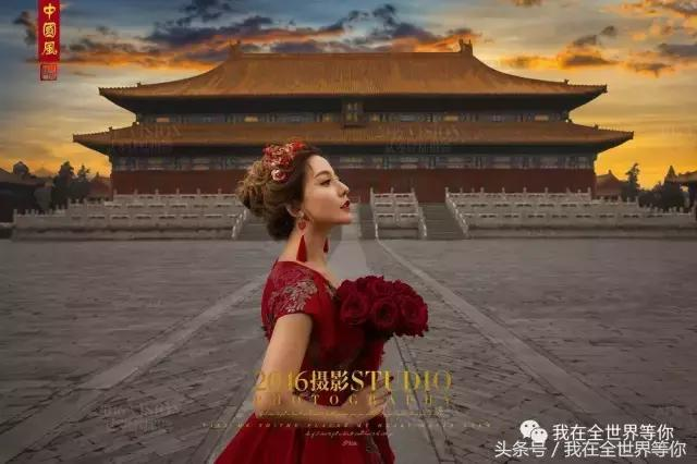 邯郸拍婚纱外景的地方