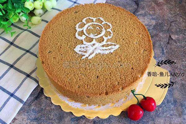 抹茶蛋糕(八寸)