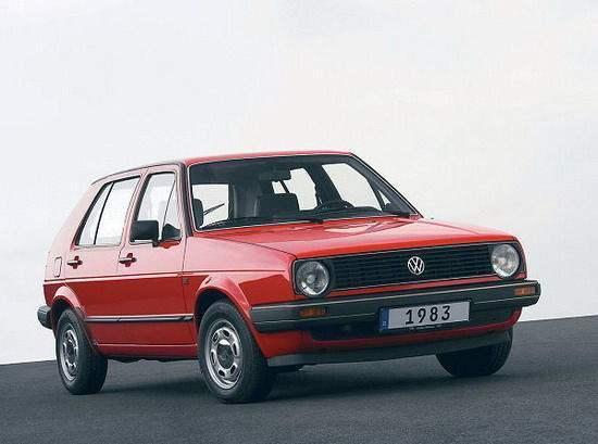 第二代高尔夫汽车