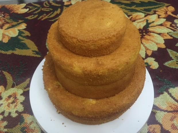海绵蛋糕(双层蛋糕胚)
