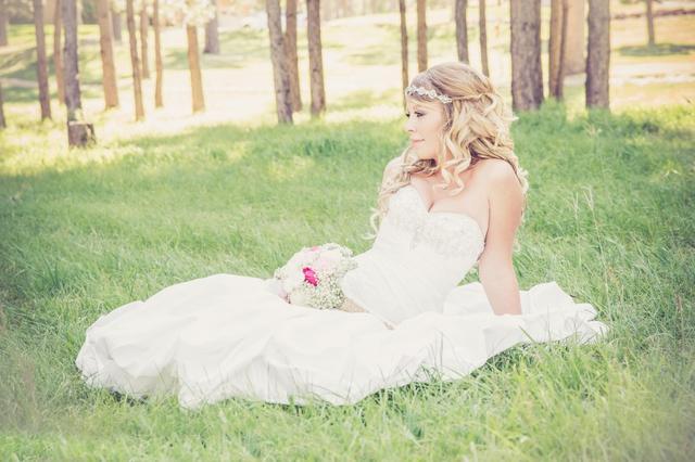 新娘婚纱图片伤感