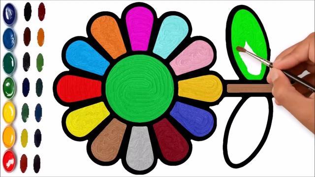 画?#24335;?#20320;描绘向日葵和卡通蛋糕