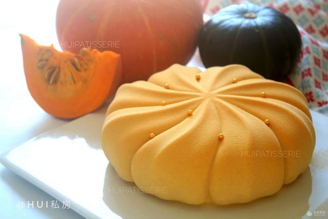 暖秋金桂南瓜法式慕斯蛋糕 马卡龙·奶油蛋糕看过来
