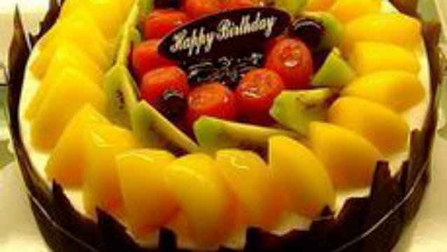 超级漂亮的水果蛋糕这么容易做,学会还愁没有女朋友吗?