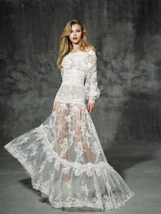 金牛座的婚纱。