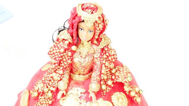 超美的新娘礼服翻糖蛋糕来了!蛋糕做成这样是给人吃的吗?