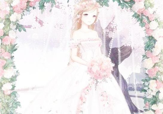 奇迹暖暖国庆婚纱