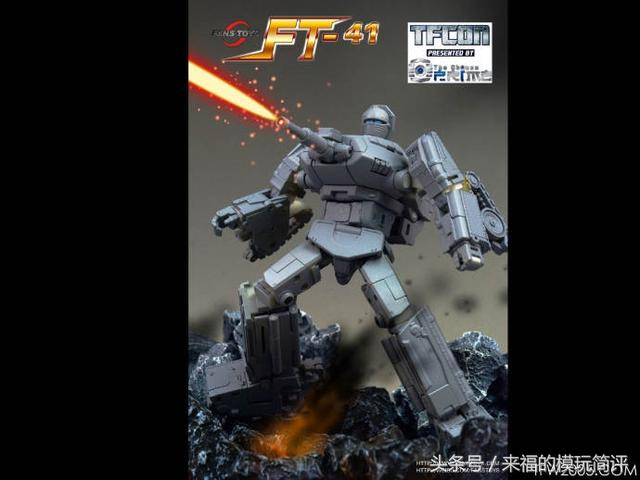 TFcon 2018 多伦多站 Fans Toys更新FT-41 Warpath 战戟官