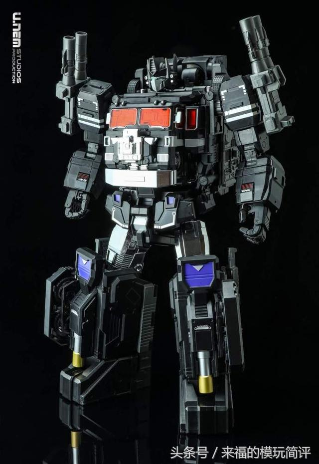 Fans hobby MB-06A Black Power Baser, 黑超神开盒图