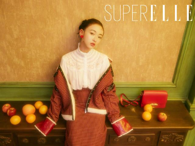 吴谨言 for SuperELLE