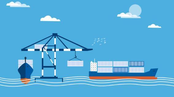 2018中国跨境出口电商交易规模同...