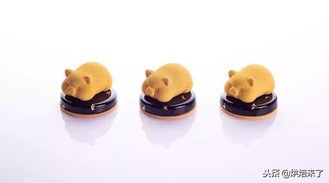 猪年福利,网红金猪蛋糕来了!