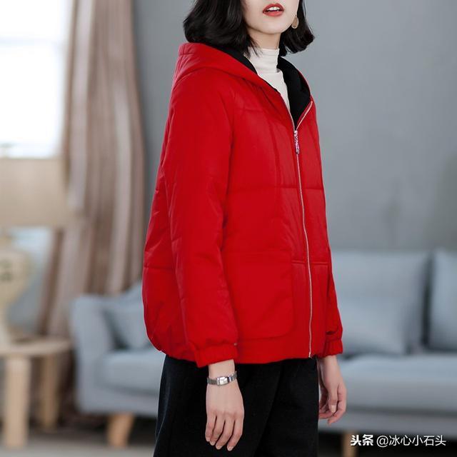 凤凰色2017秋冬新款红色短款棉服女韩版短外套时尚保暖小棉袄减龄优惠券