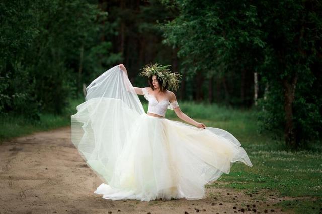 150个子适合穿什么样的婚纱