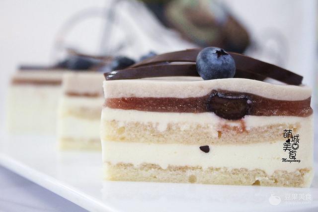 法式蓝莓蛋糕的做法