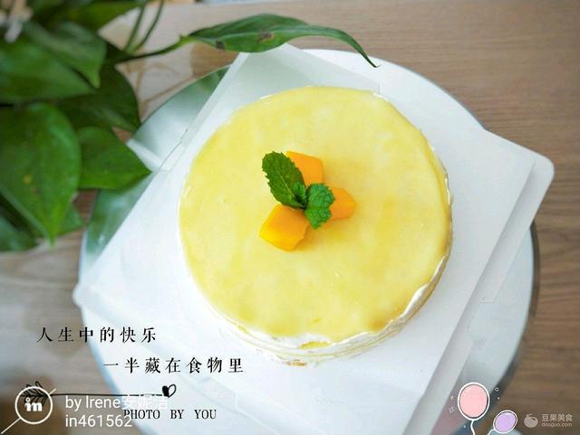 榴莲千层蛋糕——唇齿留香 网红美食我来做