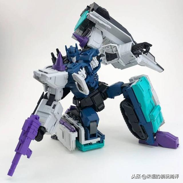 Fans Hobby MB-08 Double Evil 《G1 Overlord霸王)上色样品图