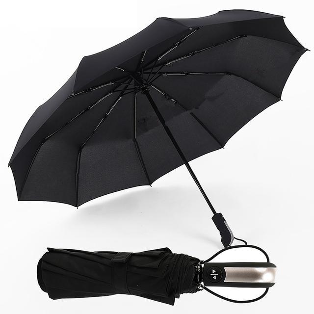 全自动雨伞结构图