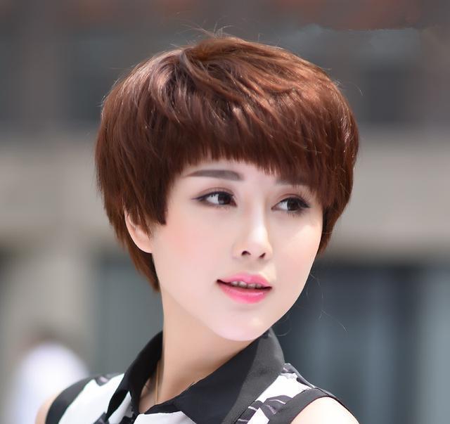 40岁女人减龄短发发型