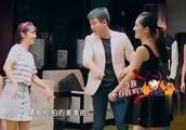 佟大为请谢娜教学员,谢娜上台搞笑全场,何炅在旁笑合不上嘴