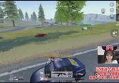 荒野行动pc版:车载机关枪,看到跑车直接打瞬间致富!