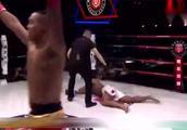 内蒙大汉痛击日本拳手 拒不投降的结局是被打躺不起