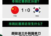 中国足球队跟韩国足球什么时候比赛