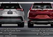 2019款丰田RAV4荣放和2018款本田CR-V直观对比,你会选谁?