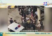 福州:抵制闽江学院禁外卖,外卖商家在食堂门口免费发餐
