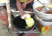 印度传统小吃,看完你想来一份吗?网友:喝油都不吃!