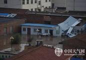 甘肃环县遭冰雹袭击 损失严重