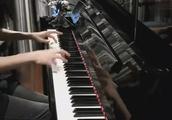 中国女孩钢琴演奏《魂斗罗》高清
