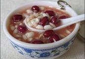 红豆薏米水的做法和功效