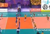 朱婷21分,瓦基弗击败巴西劲旅卫冕世俱杯冠军,看看赛点球!