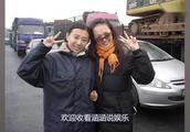唐嫣高速堵车,等车之余素颜与粉丝、路人开心合影,网友:必须粉