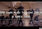 2018韩国苹果音乐年终排行榜 国民最爱听的歌原来是这几首
