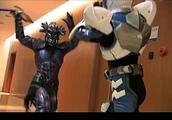 《铠甲勇士》飞影铠甲终于复活,展现一流腿法!