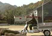 乡村爱情,刘能大早上骑着三轮昂首挺胸的,就是不理大脚!