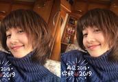 马伊琍晒自拍迎新年蓬松发型超抢镜 42岁仍满脸胶原蛋白