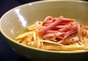 萝卜火腿汤怎么做