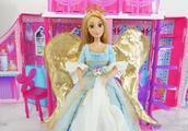 芭比娃娃的梦想豪宅 长发公主变成了美丽的天使
