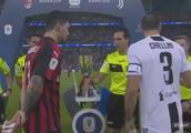 C罗进球制胜!总裁意大利首冠!尤文1-0胜米兰夺得意大利超级杯