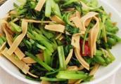 怎么做好吃,芹菜千张炒肉丝的家常做法