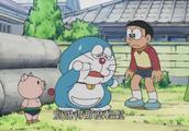 新哆啦A梦:哆啦A梦拿出了减肥猪,这下不运动都不行了