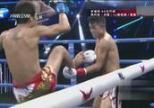 武林风环球拳王争霸赛,韩兵权不敌泰国名将,苦战三局点数落败