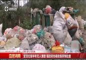 生活垃圾半年无人清理,镇政府协调农场尽快处理