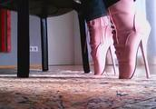 穿芭蕾高跟鞋有多难受